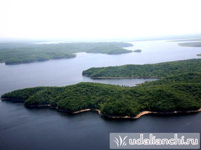 Пять связанных озер Удалянчи
